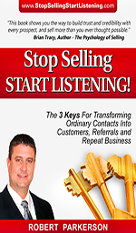 Stop Selling, Start Listening!