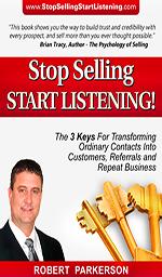 Stop Selling, Start Listening!